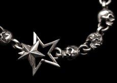 画像2: Clash Star Skull Bracelet (L) (2)