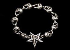 画像1: Clash Star Skull Bracelet (1)