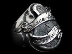 画像2: Guitar with Ribbon Ring (Peace) (2)