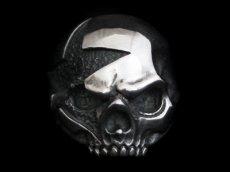 画像1: Clash Star Skull Ring (1)