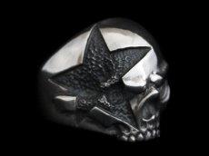 画像2: Clash Star Skull Ring (2)