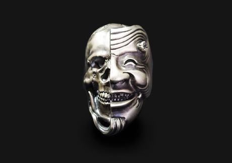 画像1: 翁髑髏 Ring (1)