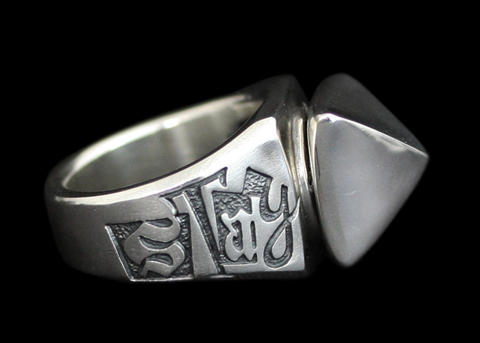 画像1: Rock Jewel Custom Ring (SP) (1)