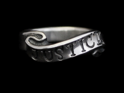 画像1: Soul Ribbon Ring (JUSTICE) (1)