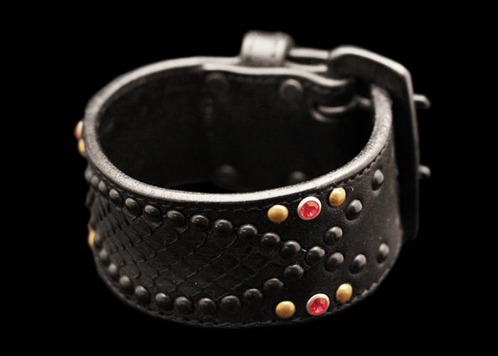 画像1: Snake On Snake Bracelet (1)