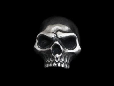 画像1: Skull Beads Top (1)