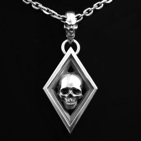 画像1: Diamond with Skull Top (1)