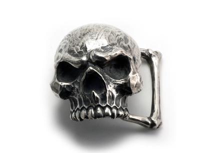 画像1: Skull Buckle (1)